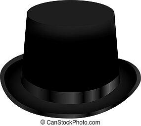 chapeau, sommet, magie noire