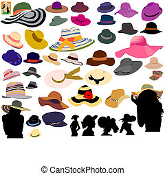 chapeaux, ensemble