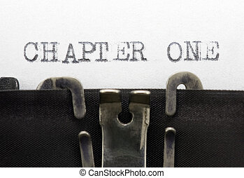 chapitre, une