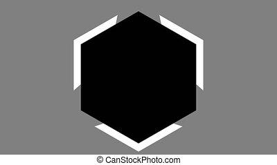 chargeur, buffering, ux, hexagone
