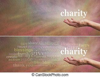 charité, donner, campagne