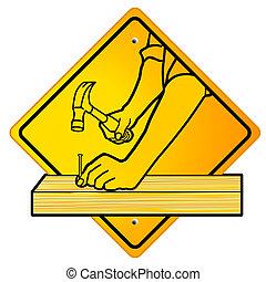 charpentier, signe