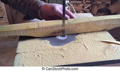 charpentier, travail
