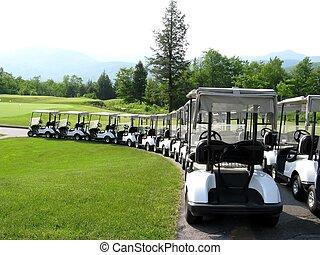 charrettes, golf
