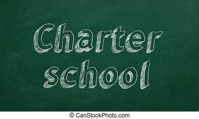 charte, école