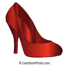 chausson, rubis