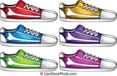 chaussures, ensembles