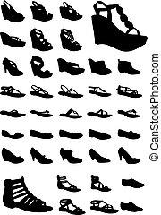 chaussures, femmes