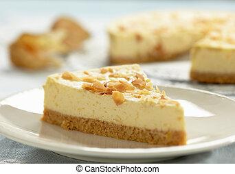 cheesecake, couper