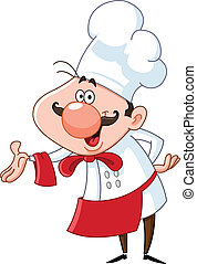 chef cuistot, amical