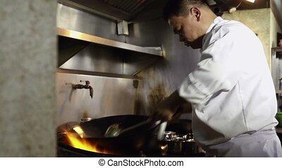 chef cuistot, cuisine, cuisine, restaurant