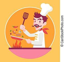 chef cuistot, cuisine