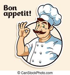 chef cuistot, cuisinier
