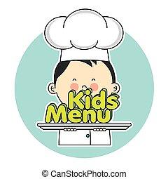 chef cuistot, enfants