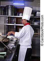 chef cuistot, travail