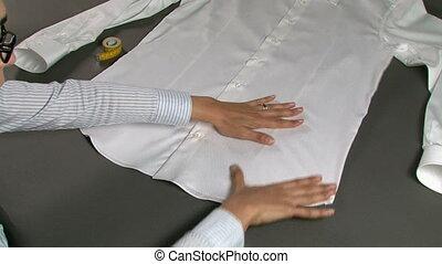 chemise, largeur, homme, mesurer, hanches, tailleur