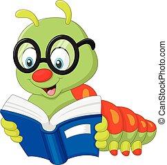 chenille, livre lecture