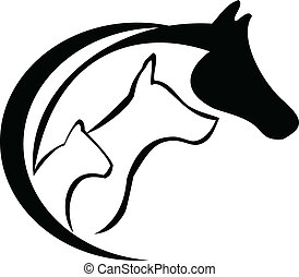 cheval, chien, chat