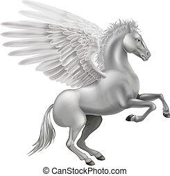 cheval, pégase