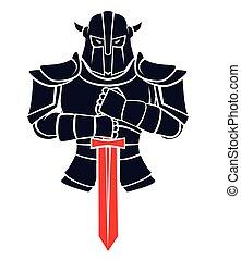 chevalier, guerrier