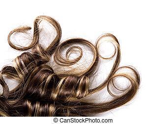 cheveux, long