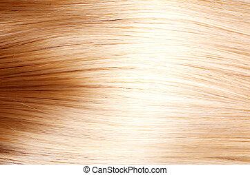 cheveux, texture, hair., blonds, blond