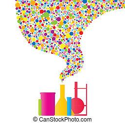 chimie, coloré
