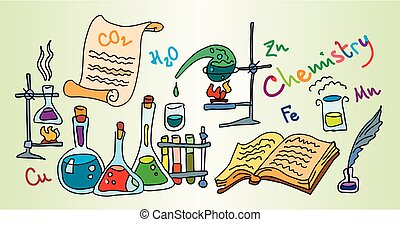 chimie, laboratoire