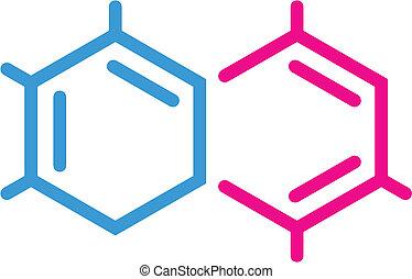 chimique, symbole