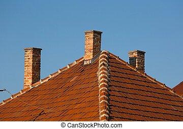 chimnies, maison