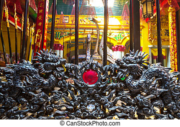 chinois, temple