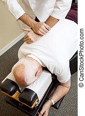 chiropraxie, médecine