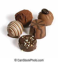 chocolat, rassemblement