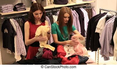 choisir, vêtements