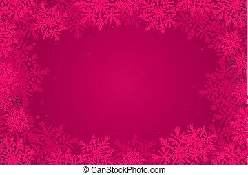 christmas-card, arrière-plan rouge