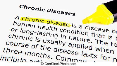 chronique, maladies