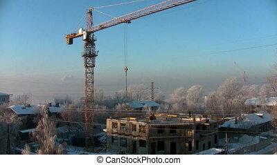 chronocinématographie, construction, glacial