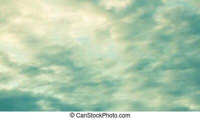 chronocinématographie, nuages mouvement, 4k