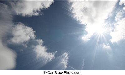 chronocinématographie, nuages