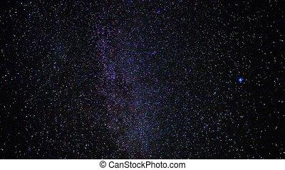 ciel étoilé, chronocinématographie