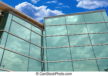 ciel, bâtiment