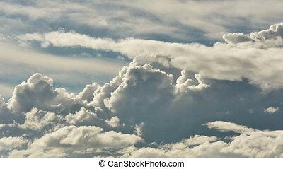 ciel, défaillance, nuages, temps