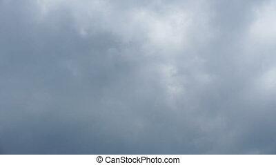 ciel, flotteur, nuages