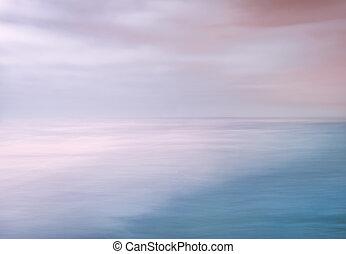 ciel, océan, résumé