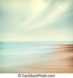 ciel, résumé, mer