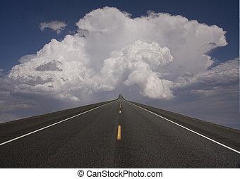 ciel, route