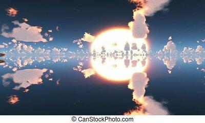 ciel, vaisseau spatial
