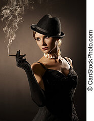 cigare, dame
