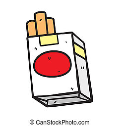 cigarette, griffonnage