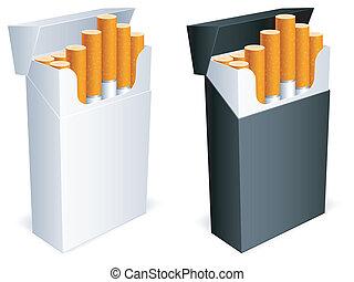 cigarette, pack.